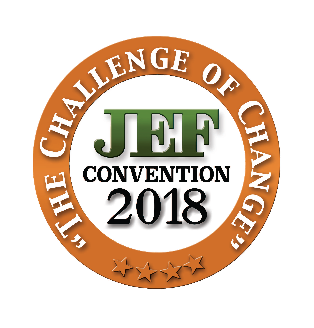 """JEF CONVENTION 2018 - """"THE CHALLENGE OF CHANGE"""""""