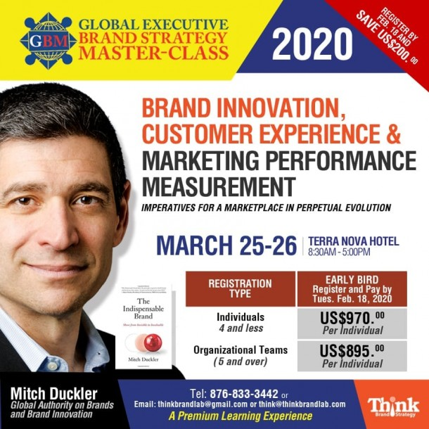 GLOBAL EXECUTIVE BRAND STRATEGY MASTER CLASS 2020