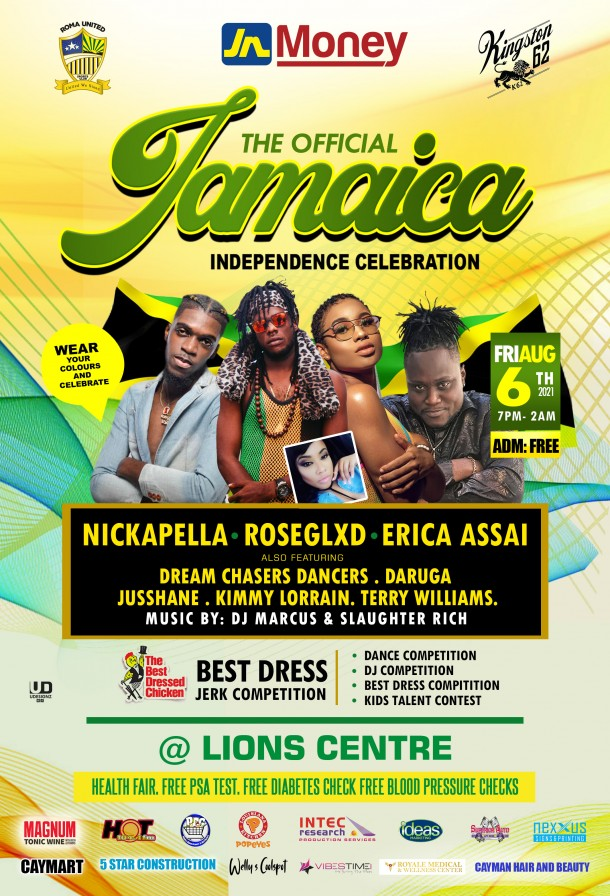 THE OFFICIAL JAMAICA INDEPENDENCE CELEBRATION